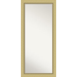 Landon Gold 30W X 66H-Inch Full Length Floor Leaner Mirror