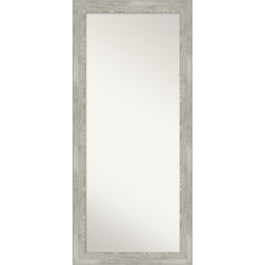 Dove Gray 30W X 66H-Inch Full Length Floor Leaner Mirror