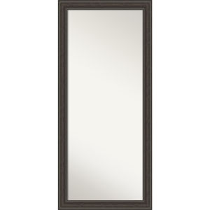 Shipwreck Gray 29W X 65H-Inch Full Length Floor Leaner Mirror