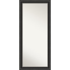 Ridge Black 30W X 66H-Inch Full Length Floor Leaner Mirror
