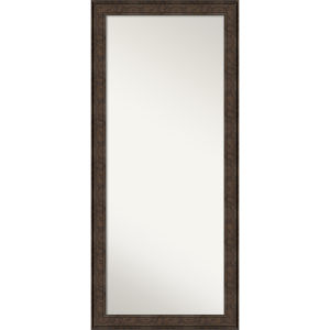 Ridge Bronze 30W X 66H-Inch Full Length Floor Leaner Mirror