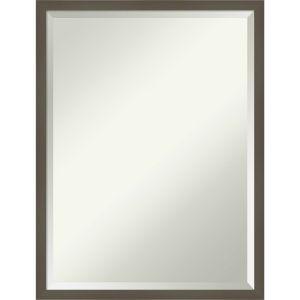 Svelte Gray 19W X 25H-Inch Decorative Wall Mirror