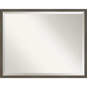 Svelte Gray 29W X 23H-Inch Decorative Wall Mirror