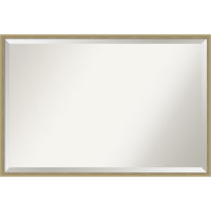 Lucie Champagne 37W X 25H-Inch Decorative Wall Mirror