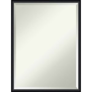 Lucie Black 19W X 25H-Inch Decorative Wall Mirror