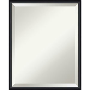 Lucie Black 17W X 21H-Inch Decorative Wall Mirror