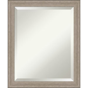 Gray 19W X 23H-Inch Decorative Wall Mirror