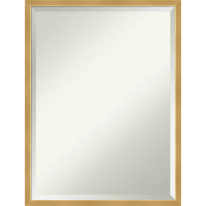 Gold 19W X 25H-Inch Bathroom Vanity Wall Mirror