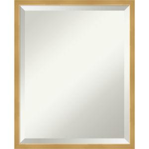 Gold 17W X 21H-Inch Bathroom Vanity Wall Mirror