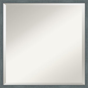 Dixie Blue and Gray 21W X 21H-Inch Bathroom Vanity Wall Mirror