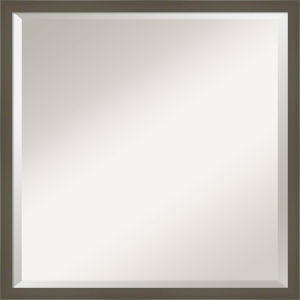 Svelte Gray 21W X 21H-Inch Bathroom Vanity Wall Mirror