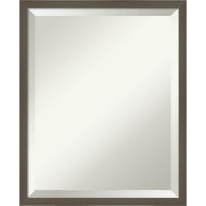 Svelte Gray 17W X 21H-Inch Bathroom Vanity Wall Mirror