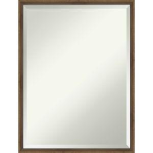 Lucie Bronze 19W X 25H-Inch Bathroom Vanity Wall Mirror