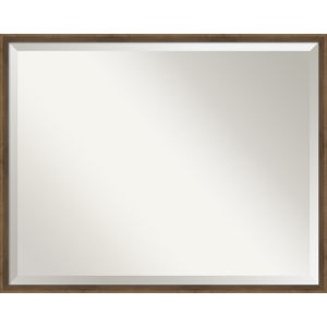 Lucie Bronze 29W X 23H-Inch Bathroom Vanity Wall Mirror