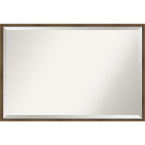Lucie Bronze 37W X 25H-Inch Bathroom Vanity Wall Mirror