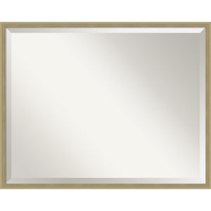Lucie Champagne 29W X 23H-Inch Bathroom Vanity Wall Mirror