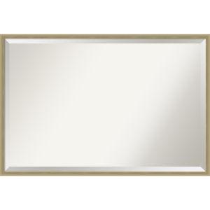 Lucie Champagne 37W X 25H-Inch Bathroom Vanity Wall Mirror