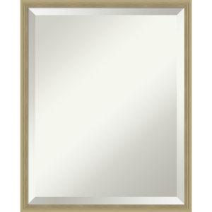 Lucie Champagne 17W X 21H-Inch Bathroom Vanity Wall Mirror