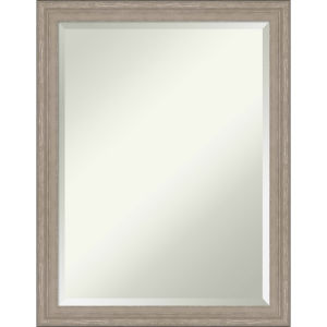 Gray Frame 21W X 27H-Inch Bathroom Vanity Wall Mirror