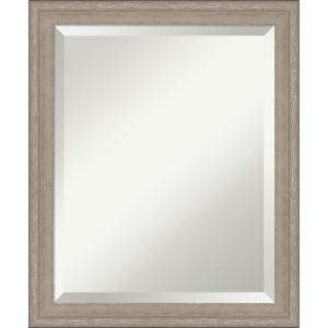 Gray Frame 19W X 23H-Inch Bathroom Vanity Wall Mirror