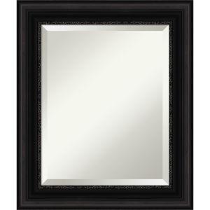 Parlor Black 22W X 26H-Inch Bathroom Vanity Wall Mirror