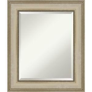 Colonial Gold 22W X 26H-Inch Bathroom Vanity Wall Mirror