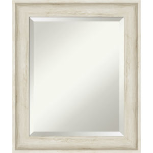 Regal White 21W X 25H-Inch Bathroom Vanity Wall Mirror