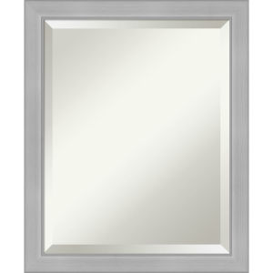 Vista Brushed Nickel 19W X 23H-Inch Bathroom Vanity Wall Mirror