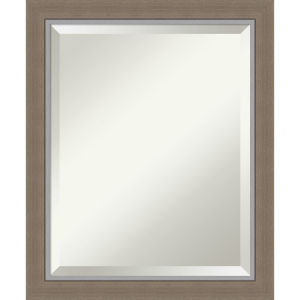 Eva Brown 19W X 23H-Inch Bathroom Vanity Wall Mirror