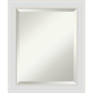 Flair White 20W X 24H-Inch Bathroom Vanity Wall Mirror