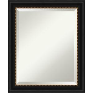 Manhattan Black 20W X 24H-Inch Bathroom Vanity Wall Mirror