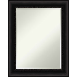 Parlor Black 24W X 30H-Inch Bathroom Vanity Wall Mirror
