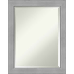 Vista Brushed Nickel 23W X 29H-Inch Bathroom Vanity Wall Mirror