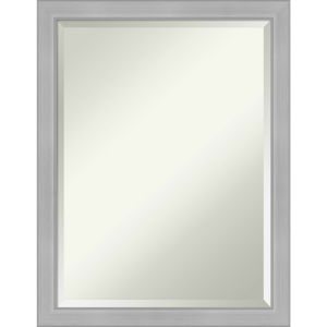 Vista Brushed Nickel 21W X 27H-Inch Bathroom Vanity Wall Mirror
