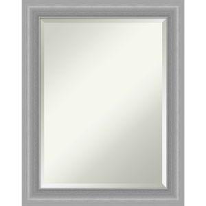 Peak Brushed Nickel 23W X 29H-Inch Bathroom Vanity Wall Mirror