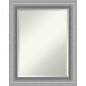 Peak Brushed Nickel 24W X 30H-Inch Bathroom Vanity Wall Mirror