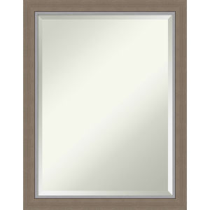 Eva Brown 21W X 27H-Inch Bathroom Vanity Wall Mirror