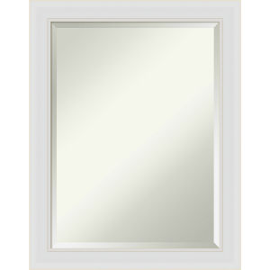 Flair White 22W X 28H-Inch Bathroom Vanity Wall Mirror