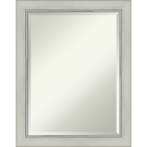Flair Silver 22W X 28H-Inch Bathroom Vanity Wall Mirror