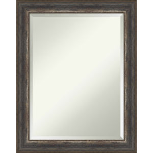 Alta Rustic Brown 23W X 29H-Inch Bathroom Vanity Wall Mirror