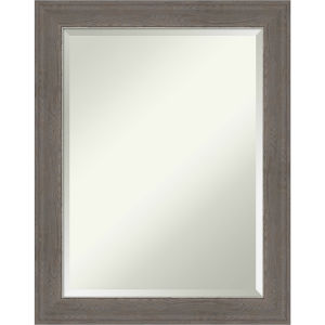 Alta Brown and Gray 23W X 29H-Inch Bathroom Vanity Wall Mirror