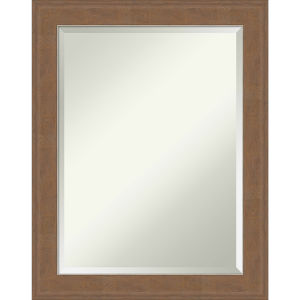 Alta Brown 23W X 29H-Inch Bathroom Vanity Wall Mirror
