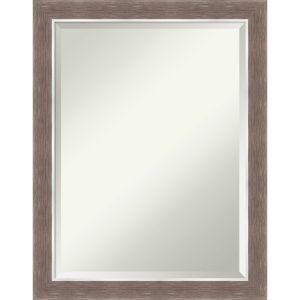 Noble Mocha 22W X 28H-Inch Bathroom Vanity Wall Mirror