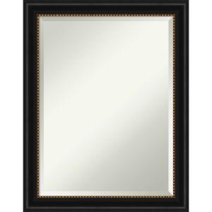 Manhattan Black 22W X 28H-Inch Bathroom Vanity Wall Mirror