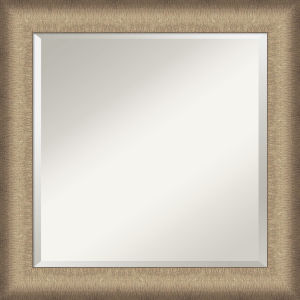 Elegant Bronze 25W X 25H-Inch Bathroom Vanity Wall Mirror