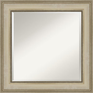 Colonial Gold 26W X 26H-Inch Bathroom Vanity Wall Mirror