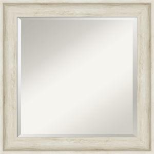 Regal White 25W X 25H-Inch Bathroom Vanity Wall Mirror