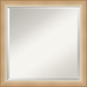 Eva Gold 23W X 23H-Inch Bathroom Vanity Wall Mirror