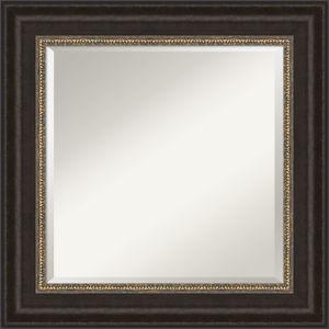 Paragon Bronze 27W X 27H-Inch Bathroom Vanity Wall Mirror