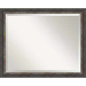 Bark Brown 32W X 26H-Inch Bathroom Vanity Wall Mirror